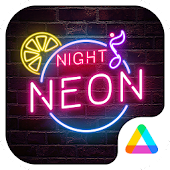 Color Phone Theme - Neon Night
