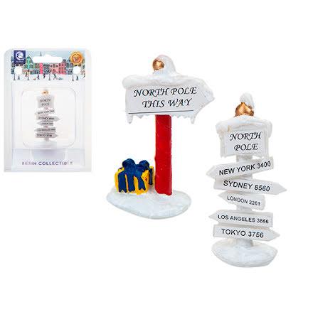 2-pack julskyltar, 6 cm - Mini world