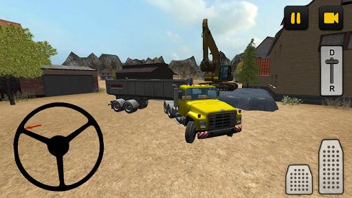 Construction Truck 3D: Asphalt