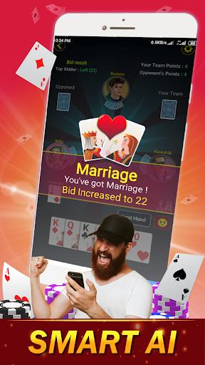29 Card Game ( twenty nine ) Offline 2020 3.8 screenshots 3