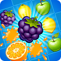 Juice Garden - Fruit match 3 icon