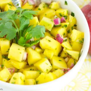 Refreshing Mango Salad.