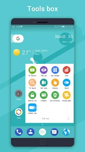 PP Launcher (Android 9.0 P Launcher style) Screenshot