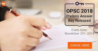 OPSC Answer key 2020 - Download Odisha PSC Questions with Solutions