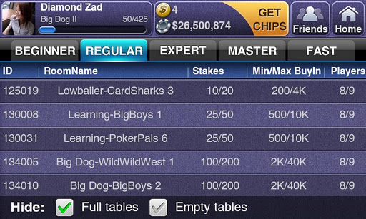 Texas HoldEm Poker Deluxe screenshot 3