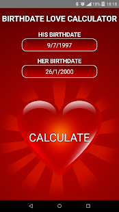 Birthdate Love Calculator- screenshot thumbnail