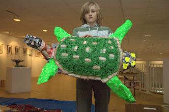 Photo: large turtle sculpture