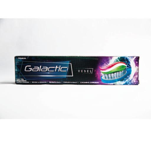 crema dental galactic limpiador de encias renjuague bucalel 100gr