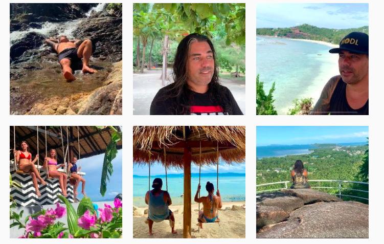 В своем Инстаграме Диди делится моментами путешествий семьи