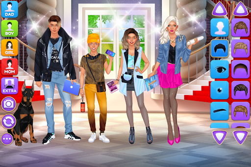 Superstar Family - Celebrity Fashion screenshots 3