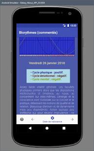 ASTRO BIORYTHMES (commentés) - náhled