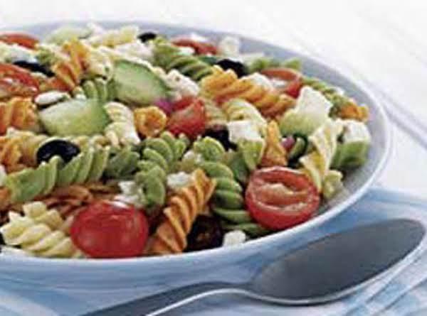Nana's Feta & Veggie Rotini Salad Recipe