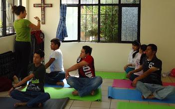 Photo: Weekly Yoga Practice Jan. 2013