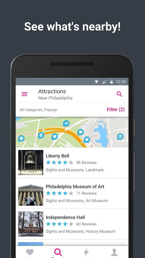 Philadelphia City Guide - Trip- screenshot