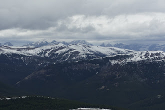 Photo: Not a good day to be on the divide.