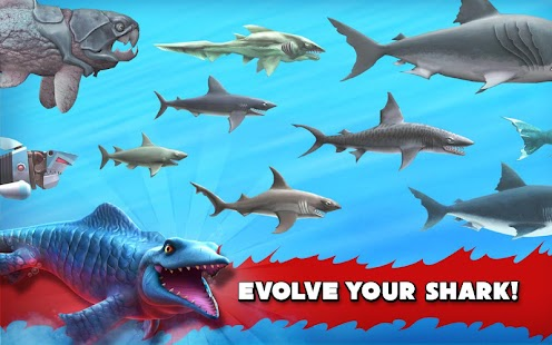 Hungry Shark Evolution 4.7.0 [Mega Mods] Apk