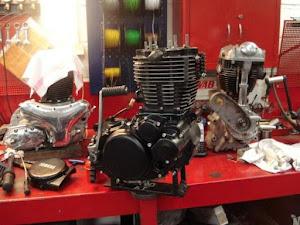 Moteur 500 XT refait par Machines et Moteurs spécialiste des Yamaha classic