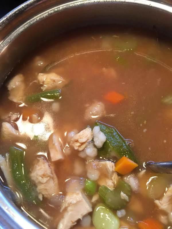 Fast Five Turkey Soup