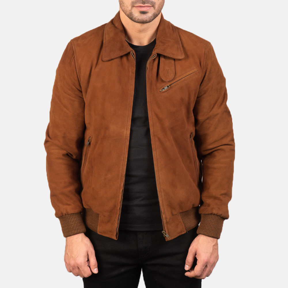 Brown Suede Jacket