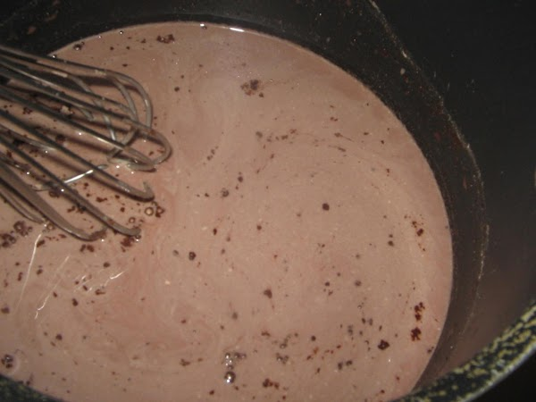 Make pudding in large saucepan, using the 2 cups of  milk. Cook over...