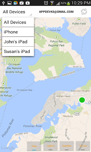 Find iPhone, Android Devices, xfi Locator Lite 1.9.6 screenshots 2