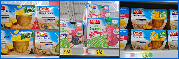 Our Dole Fruit Bowls and Dole Squish'ems Donations for Our #Dole4Kids Donation #shop