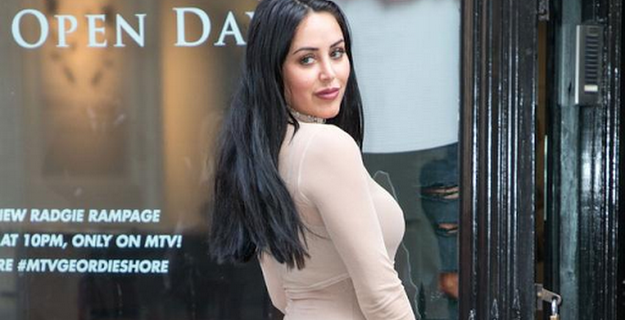 Marnie Simpson flashes boob and licks nipples in BB house
