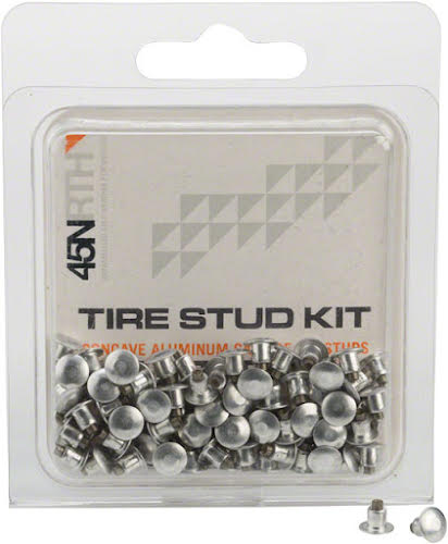45NRTH Aluminum Carbide Concave Replacement Studs 100 Pack