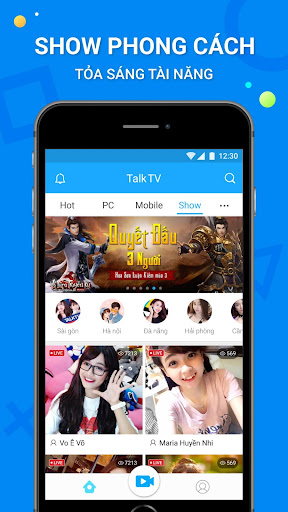 TalkTV – Live Stream Mọi Lúc screenshot