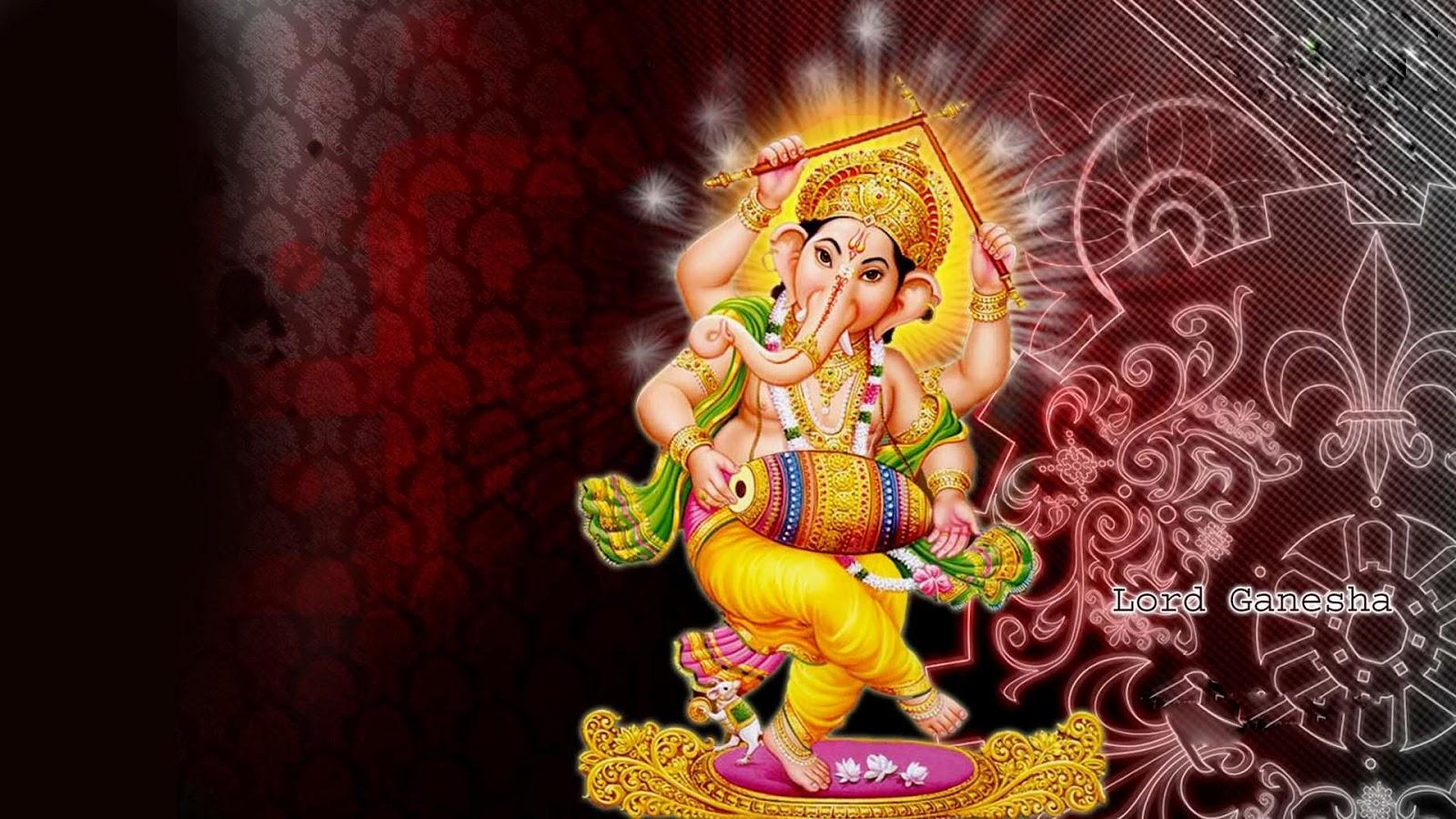 Wallpaper download ganesh - Ganesh Chalisa Aarti Wallpaper Screenshot