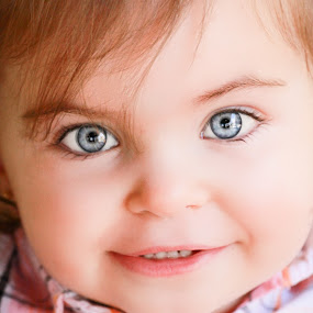 Innocence by Mitch Lassiter - Babies & Children Children Candids ( face, girl, innocence, blue eyes, baby, people, babies, cute baby, cute )