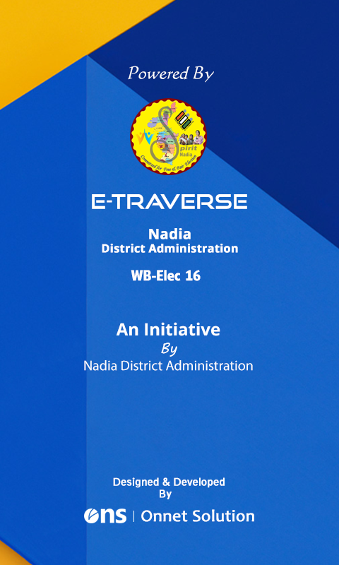 E-Traverse for Nadia Election- screenshot
