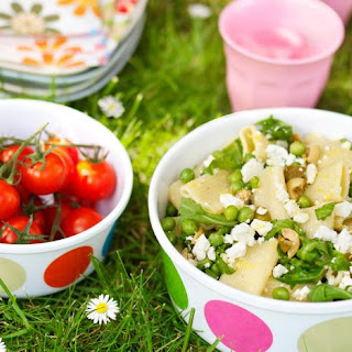 Feta, Rocket and Olive Pasta Salad Recipe