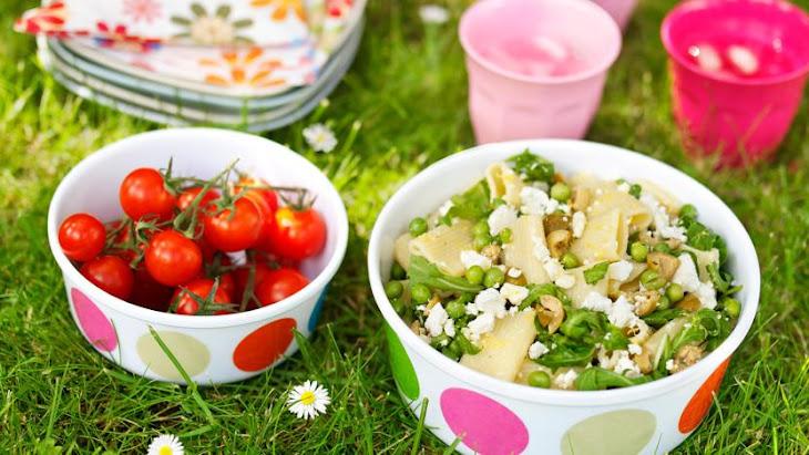 Feta, Rocket and Olive Pasta Salad Recipe