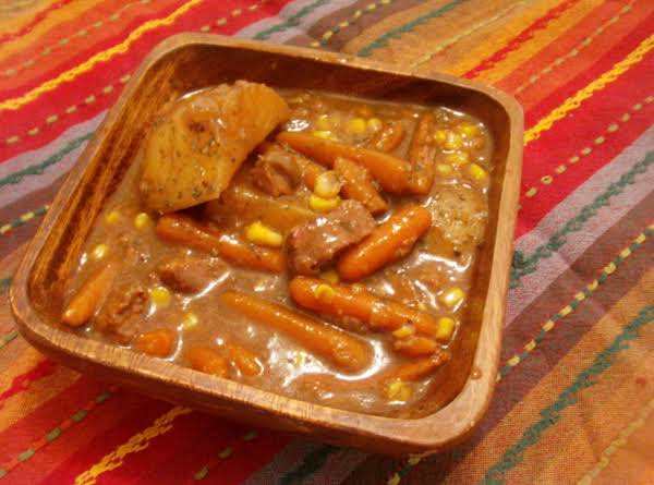 Crock Pot Beefy Beef Stew - The Easy Way!