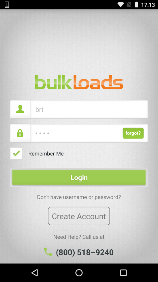 BulkLoads.com- screenshot