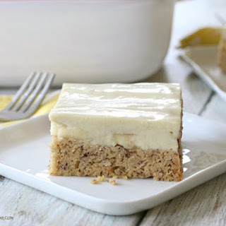 Banana Pudding Cake {grain-free, dairy-free}