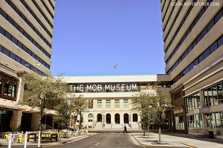 The Mob Museum Las Vegas.