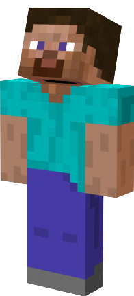 Default Steve Skin Nova Skin