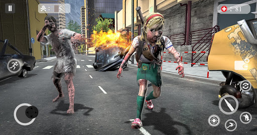 Zombie Attack Games 2019 - Zombie Crime City screenshots 7