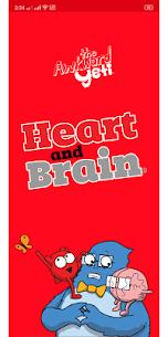 Heart and Brain Sticker Pack App 1