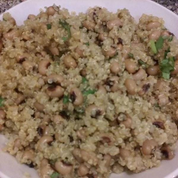 Blackeyed Peas Quinoa Recipe