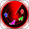 Radar : universal detector icon