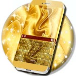 Gold Keyboard Free 2017 Version Icon