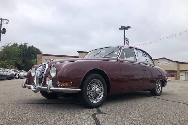 1966 Jaguar S Type Hire Oklahoma City