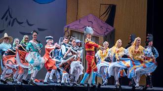 La danza final que puso el broche de oro a la interpretación de 'El sombrero de tres picos'