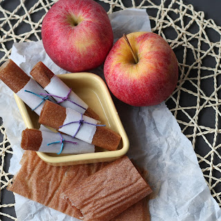 Apple Cinnamon Pear Fruit Roll-Ups