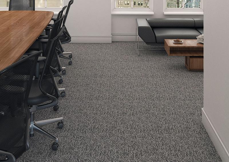 Những chiếc thảm văn phòng sau khi đã được làm sạch