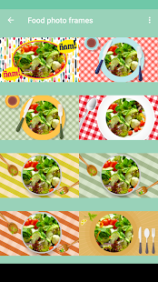Food photo frames - náhled