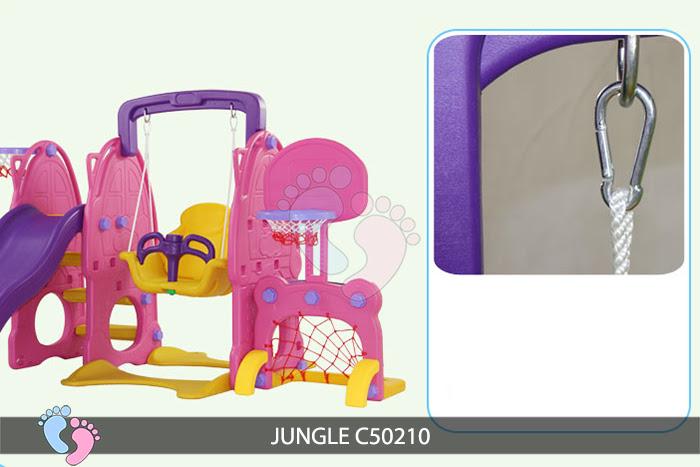 Cầu trượt cho bé Jungle C50210 13